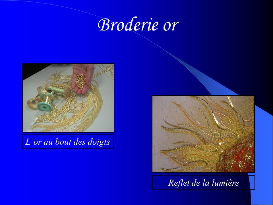 Broderie couleur L'éclat des couleurs Source d'inspiration