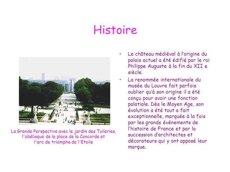 Histoire Le château médiéval à l'origine du palais actuel a été édifié par le roi Philippe Auguste à la fin du XII e siècle. La renommée international