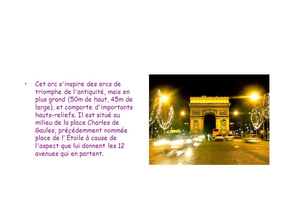 Histoire En 1667, le Palais des Tuileries s agrémente d un vaste parc champêtre qui s étend jusqu à la colline de Chaillot.