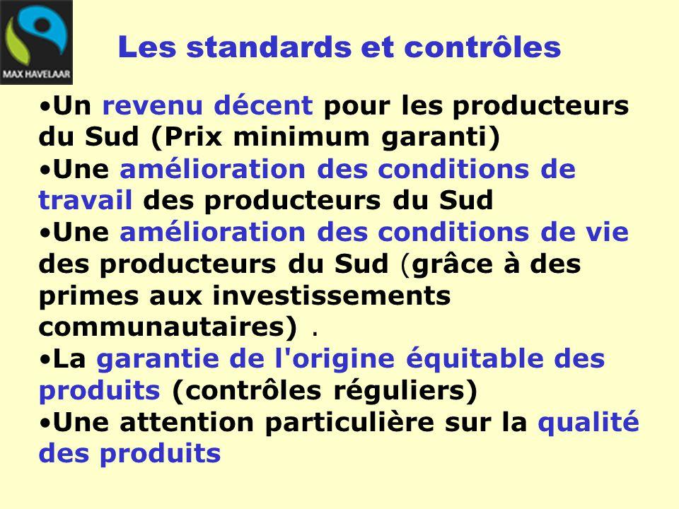 Fixent les standards du commerce équitables Gèrent les contrôles L'organisation du système