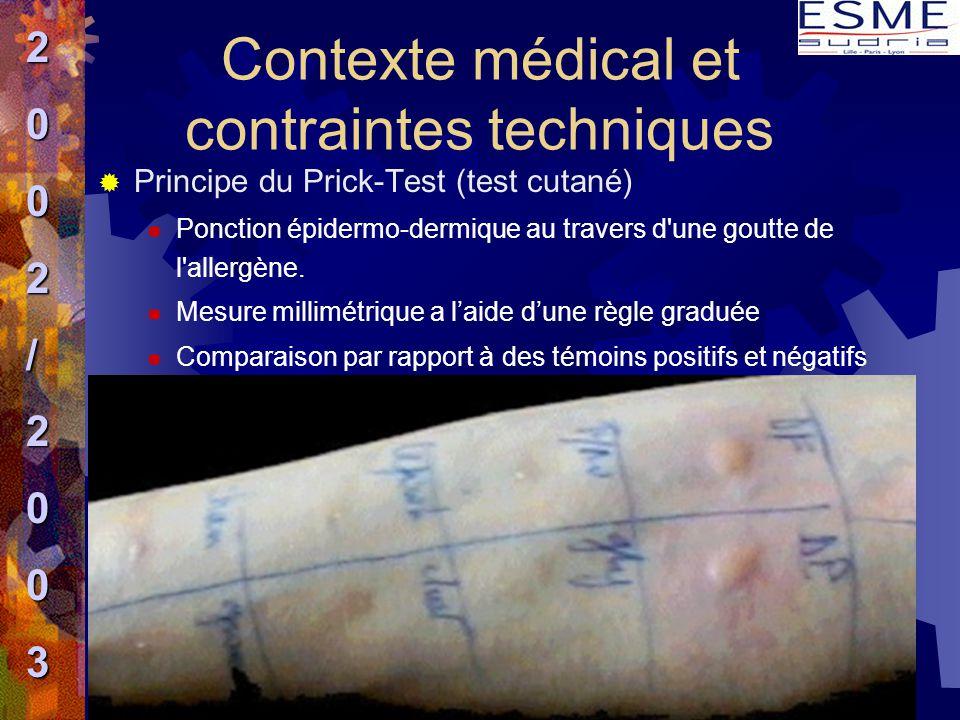  Principe du Prick-Test (test cutané)  Ponction épidermo-dermique au travers d'une goutte de l'allergène.  Mesure millimétrique a l'aide d'une règl