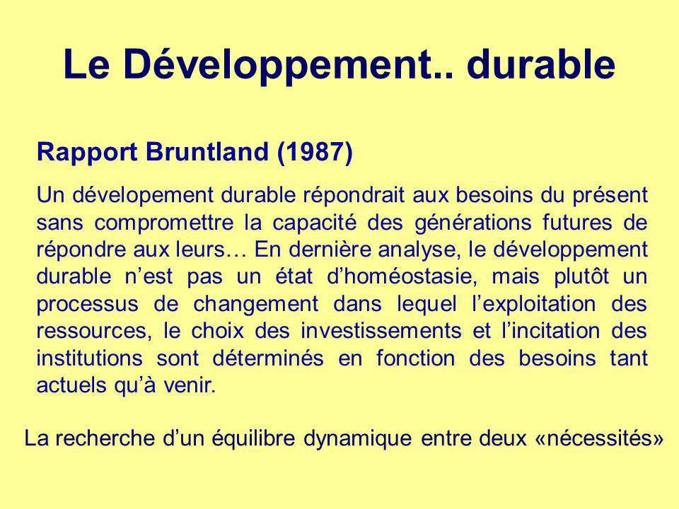 Le Développement..