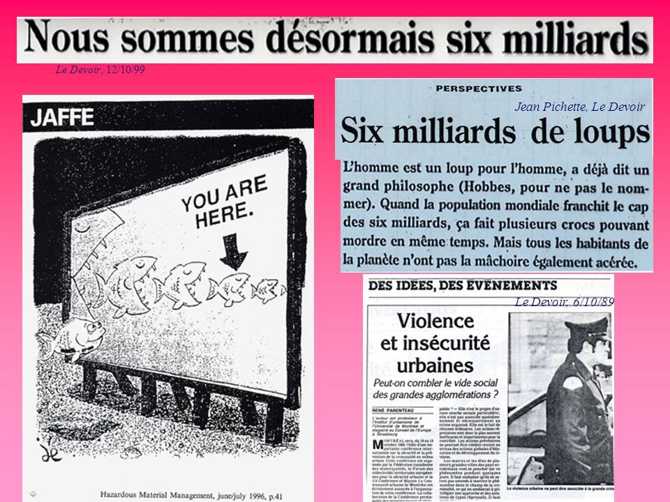 Jean Pichette, Le Devoir Le Devoir, 12/10/99 Le Devoir, 6/10/89