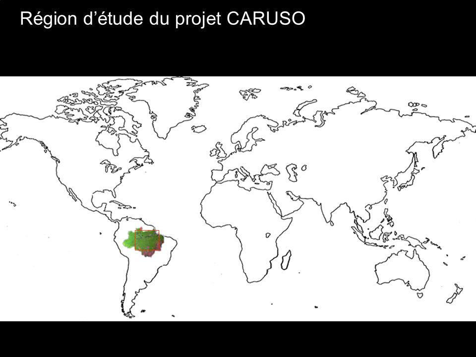 Région d'étude du projet CARUSO