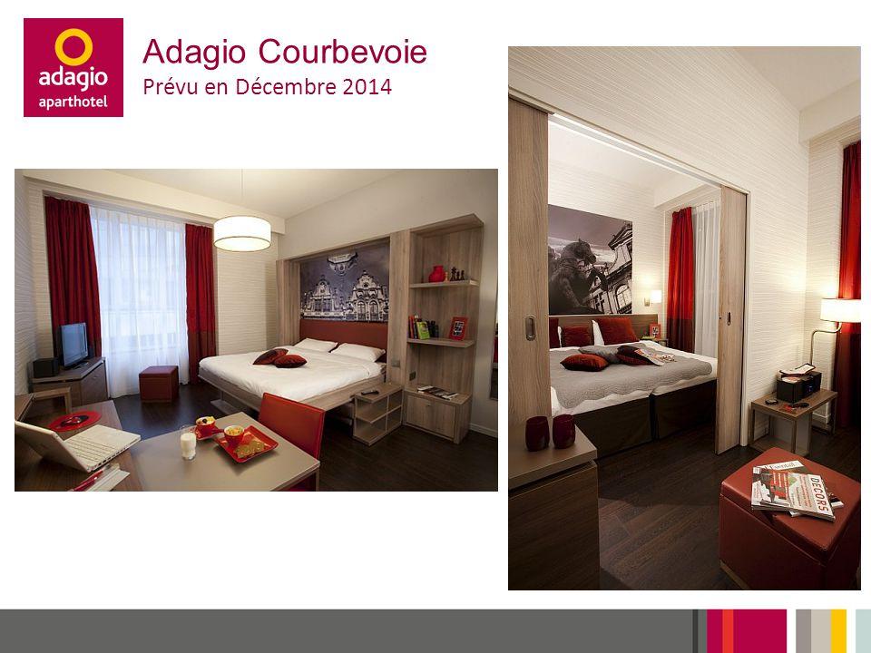 Adagio Courbevoie Prévu en Décembre 2014