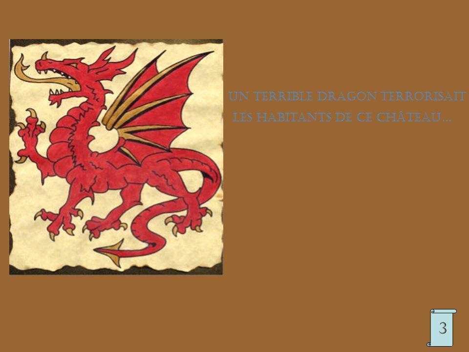 Un terrible dragon terrorisait les habitants de ce château… 3