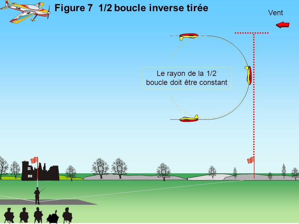 Vent Figure 7 1/2 boucle inverse tirée Le rayon de la 1/2 boucle doit être constant