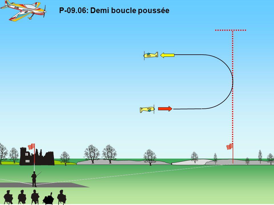 P-09.06: Demi boucle poussée