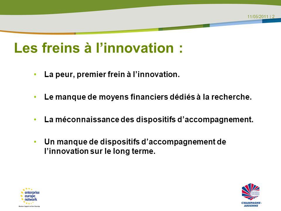 Les freins à l'innovation : La peur, premier frein à l'innovation.
