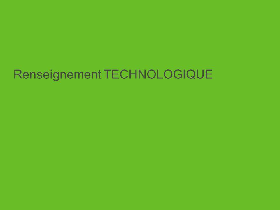 Renseignement TECHNOLOGIQUE