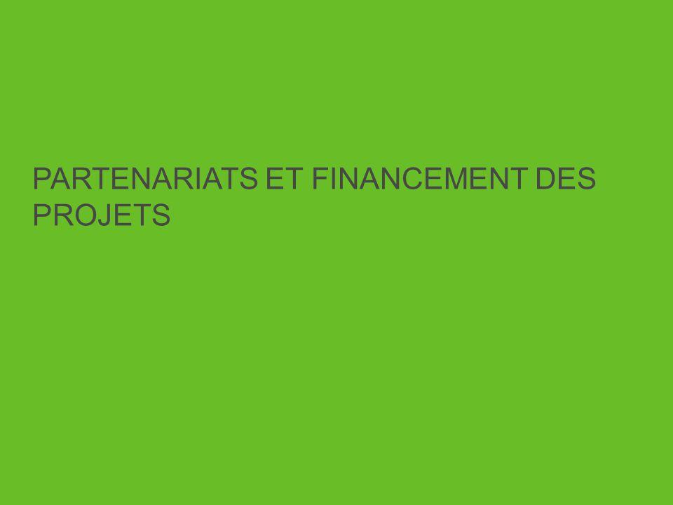 PARTENARIATS ET FINANCEMENT DES PROJETS