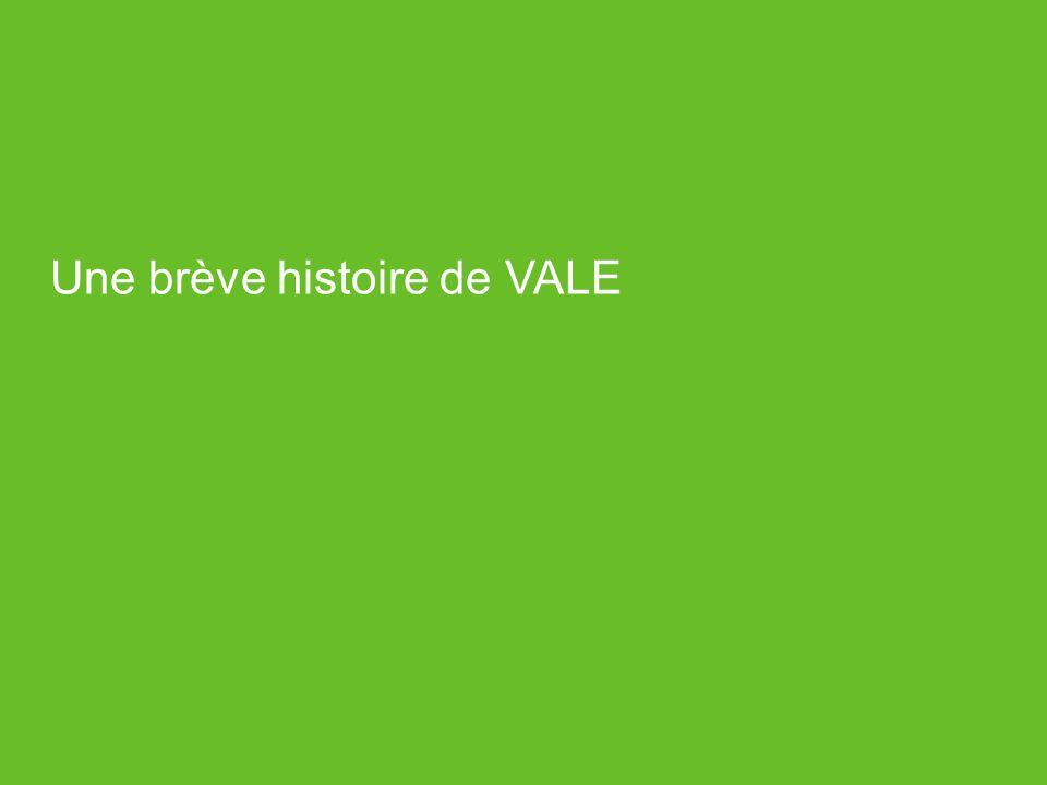 Evolution de la recherche et de la innovation chez VALE: LE MODÈLE ITV