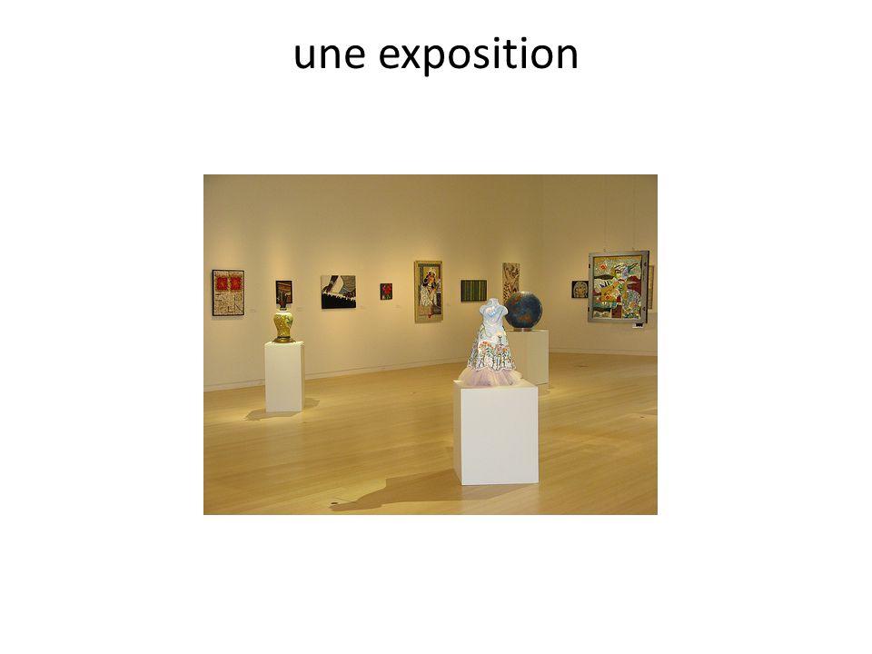 une exposition