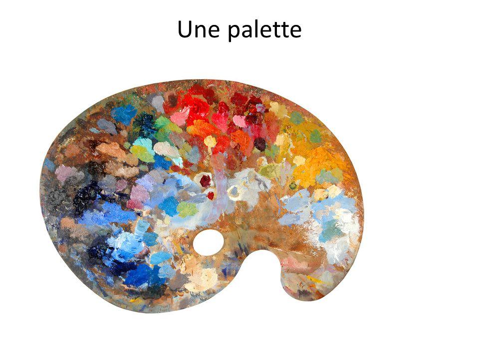 Une palette