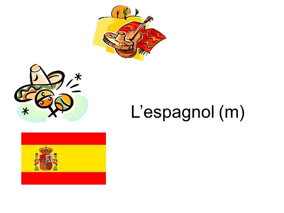 L'espagnol (m)