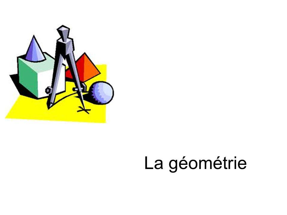 La géométrie