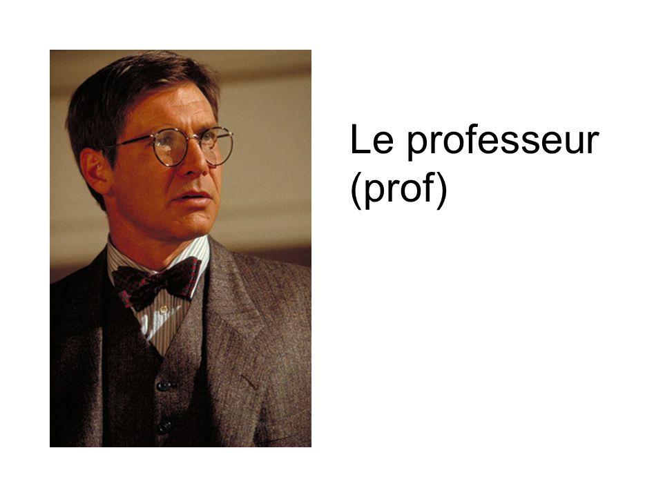 Le professeur (prof)