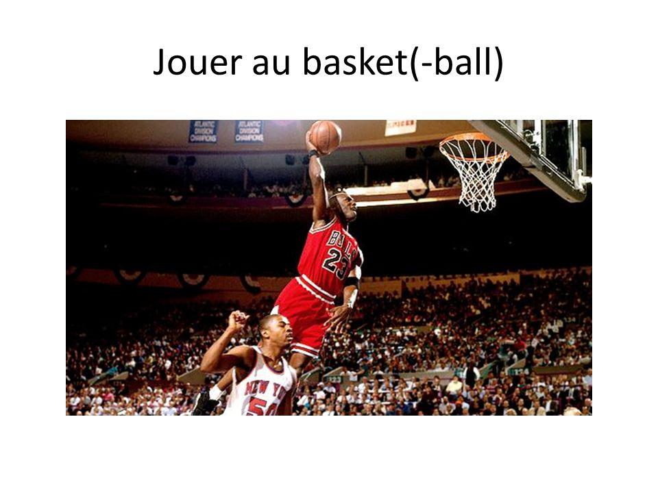 Jouer au basket(-ball)