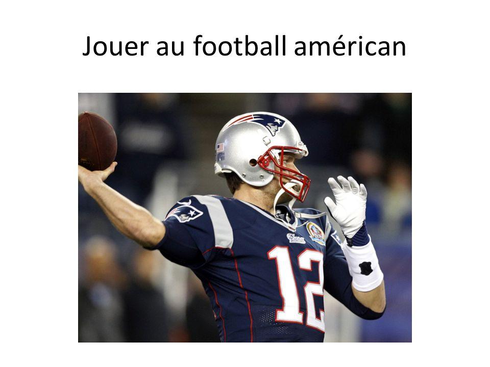 Jouer au football américan