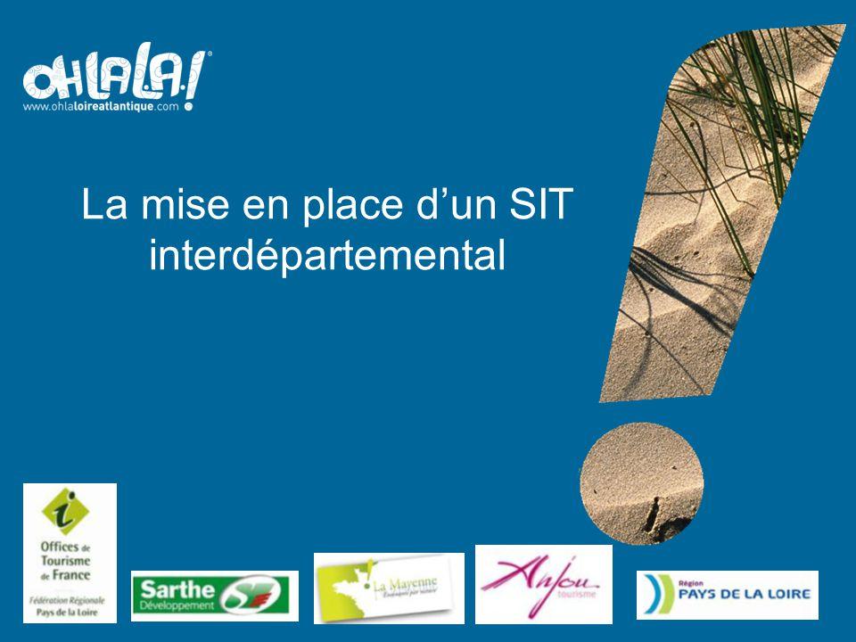 La mise en place d'un SIT interdépartemental Agence de Développement et de Réservation Touristiques (ADRT 44)