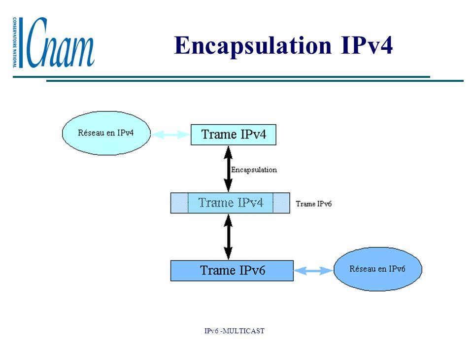IPv6 -MULTICAST Encapsulation IPv4