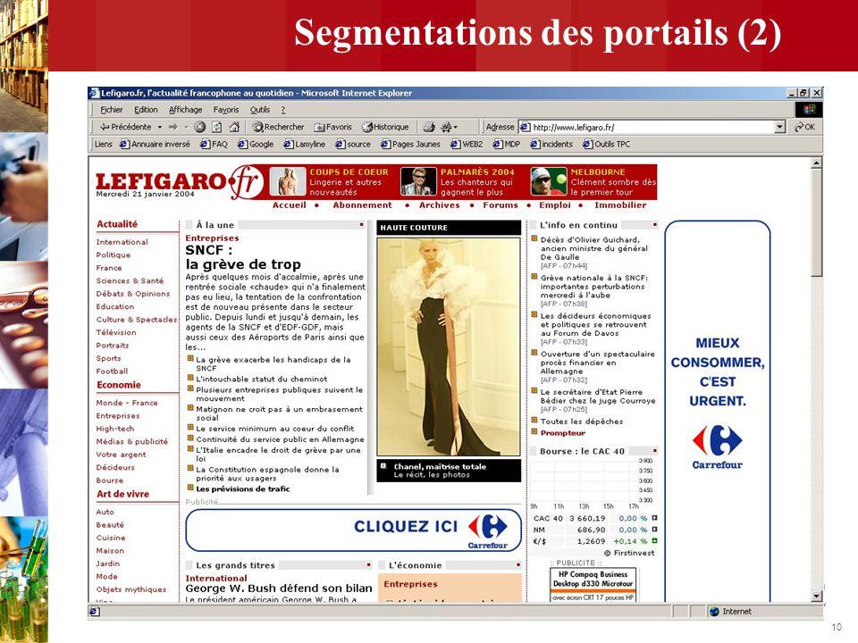 10 Segmentations des portails (2)