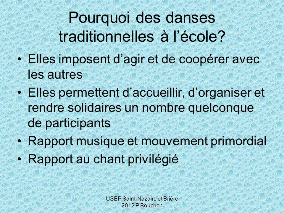 USEP Saint-Nazaire et Brière 2012 P.Bouchon Pourquoi des danses traditionnelles à l'école.