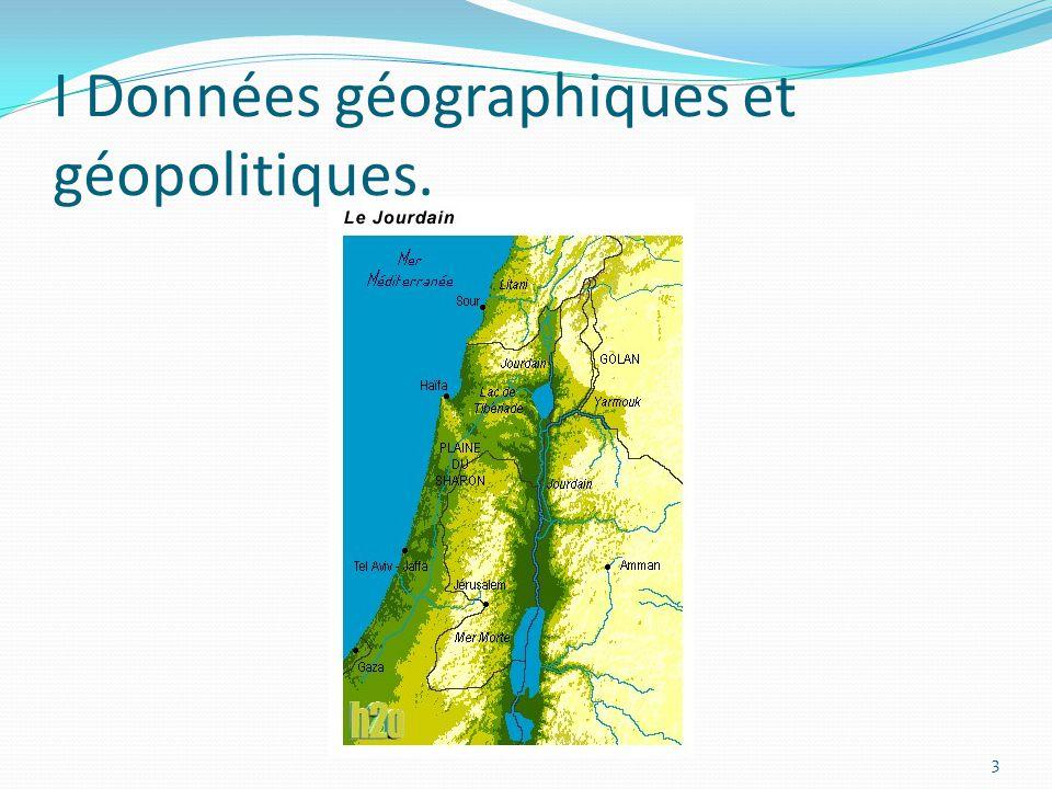 I Données géographiques et géopolitiques. 3