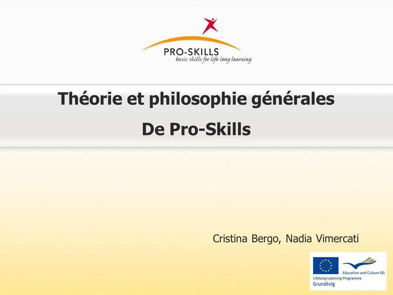 Théorie et philosophie générales De Pro-Skills Cristina Bergo, Nadia Vimercati