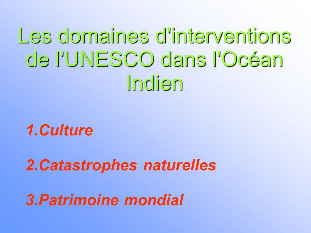 Traite dans l Océan Indien 1) Tradition orale 2) Inventaire des lieux et sites de mémoire de l'Océan Indien 3) Archéologie sub-aquatique 1.Culture