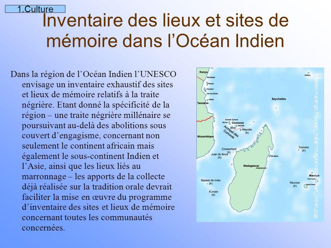 Archéologie sub-aquatique Le projet Eclave oublié sur L'Utile,un navire négrier de 1761 comporte un volet de recherche en archéologie subaquatique sur un navire négrier qui a fait naufrage sur l'île de Tromelin, où la cargaison d'esclaves en provenance de Madagascar fut abandonnée.
