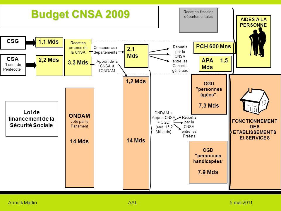 Annick Martin AAL 5 mai 2011 Les thématiques Le conseil scientifique de la CNSA a identifié 5 thématiques en interaction les unes avec les autres, avec des zones de recouvrement plus ou moins importantes.