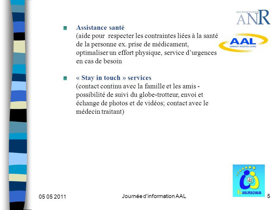 6 05 05 2011 Journée d information AAL III. Fonctionnement