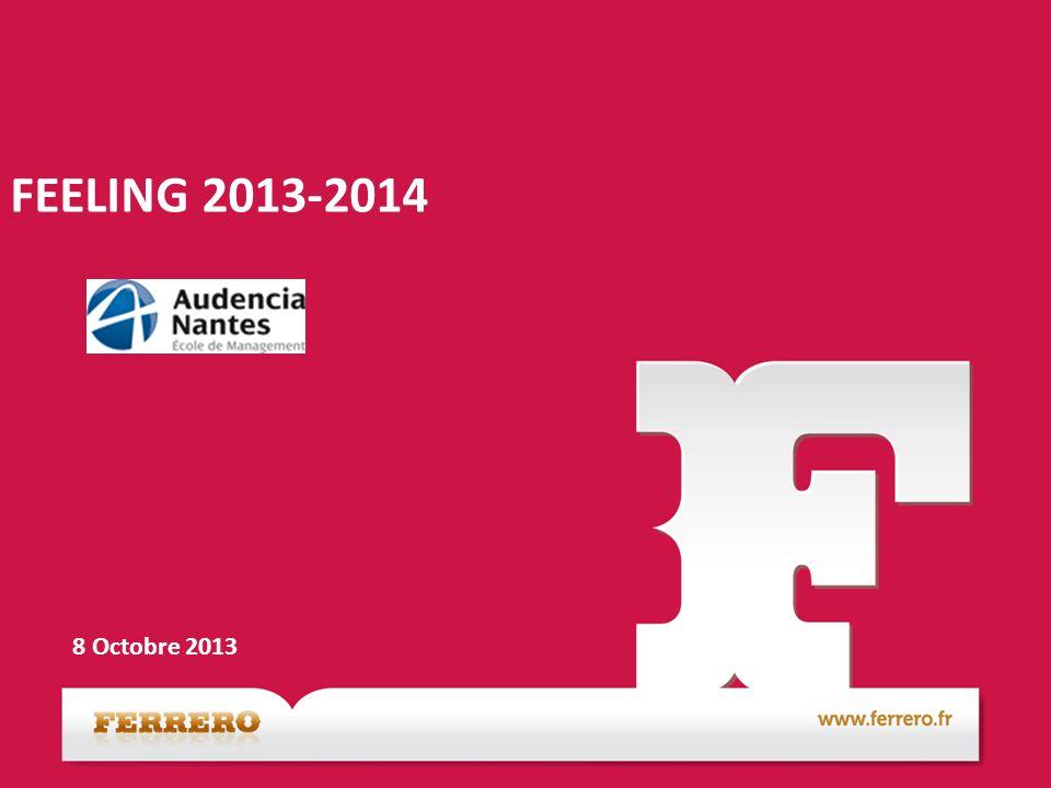 FEELING 2013-2014 8 Octobre 2013