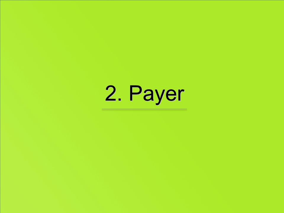 2. Payer