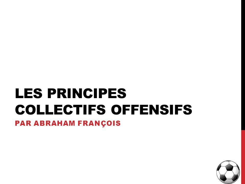 LES PRINCIPES COLLECTIFS OFFENSIFS PAR ABRAHAM FRANÇOIS