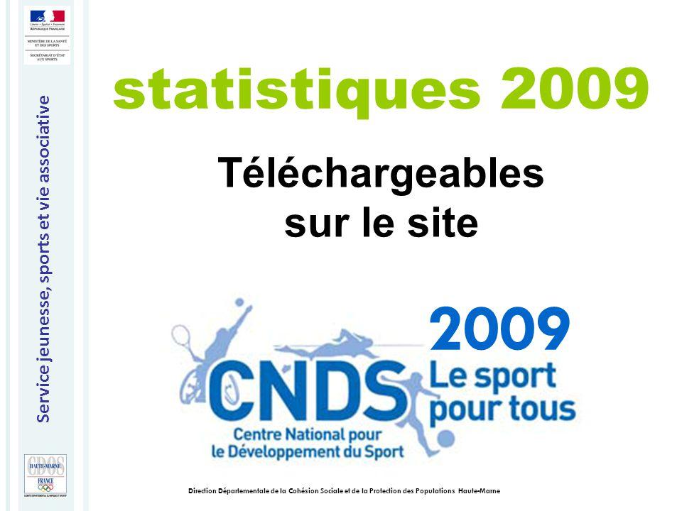 Service jeunesse, sports et vie associative Direction Départementale de la Cohésion Sociale et de la Protection des Populations Haute-Marne Merci de votre attention 2009
