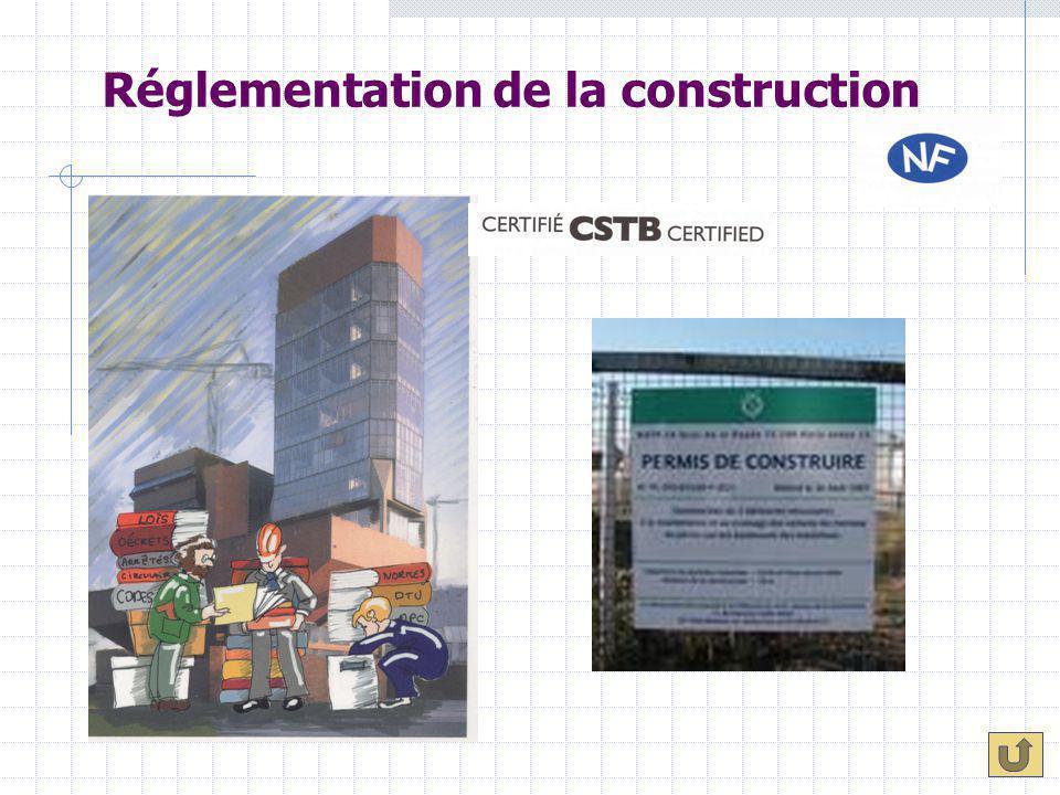 Réglementation de la construction