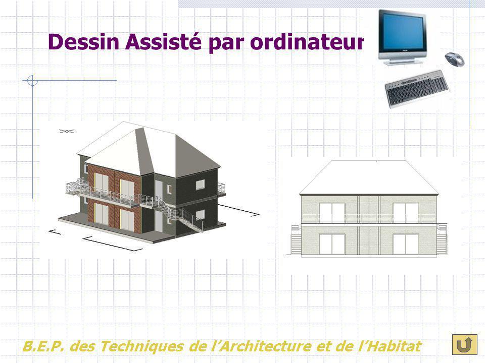 Dessin Assisté par ordinateur B.E.P. des Techniques de l'Architecture et de l'Habitat