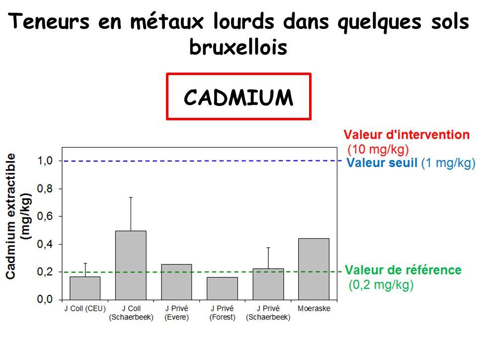 Noccaea caerulescens : hyperaccumulatrice de Zn, Cd, Ni Crucifère Annuelle - bisannuelle Plutôt xérophyte Accumulation de métaux sur sols peu contaminés: Zinc : 13 000 ppm Cadmium : 120 ppm Nickel : 180 ppm F ACTEURS DE BIOCONCENTRATION 220 – 1000 40 – 200 180 Molitor et al.