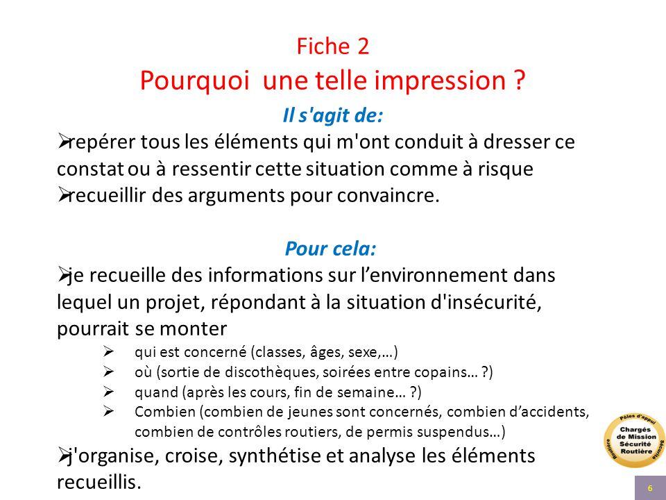Fiche 7 - suite : Quelle communication .Quelle(s) suite(s) à l'action .