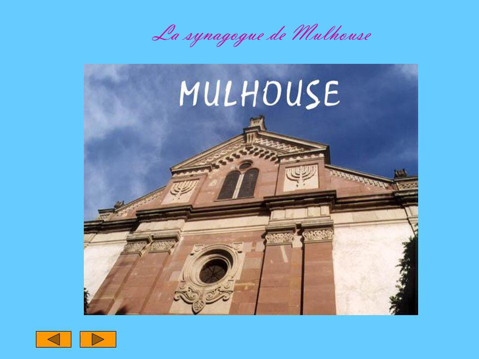 La synagogue de Mulhouse