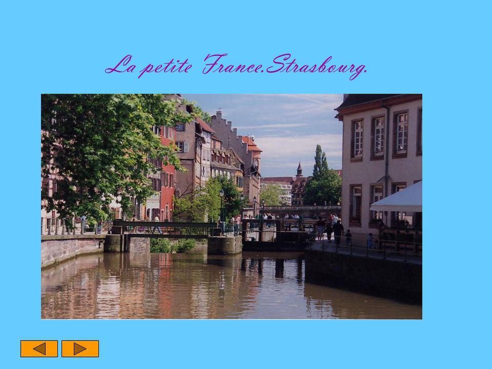 La petite France.Strasbourg.