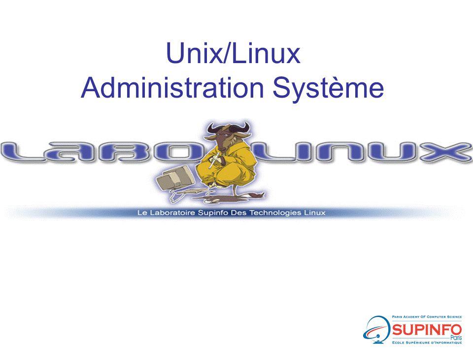 Unix/Linux Administration Système