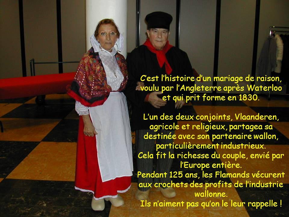 C'est l'histoire d'un mariage de raison, voulu par l'Angleterre après Waterloo et qui prit forme en 1830.