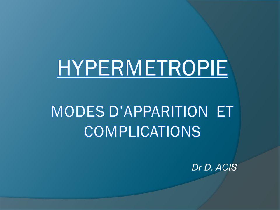 Dr D. ACIS