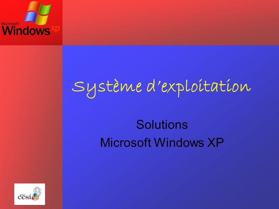 Sommaire 1) Déclinaisons 2) Questions avant l'installation 3) Windows XP Media Center 4) Windows XP Tablet PC 5) Windows XP Pro VS XP Familiale