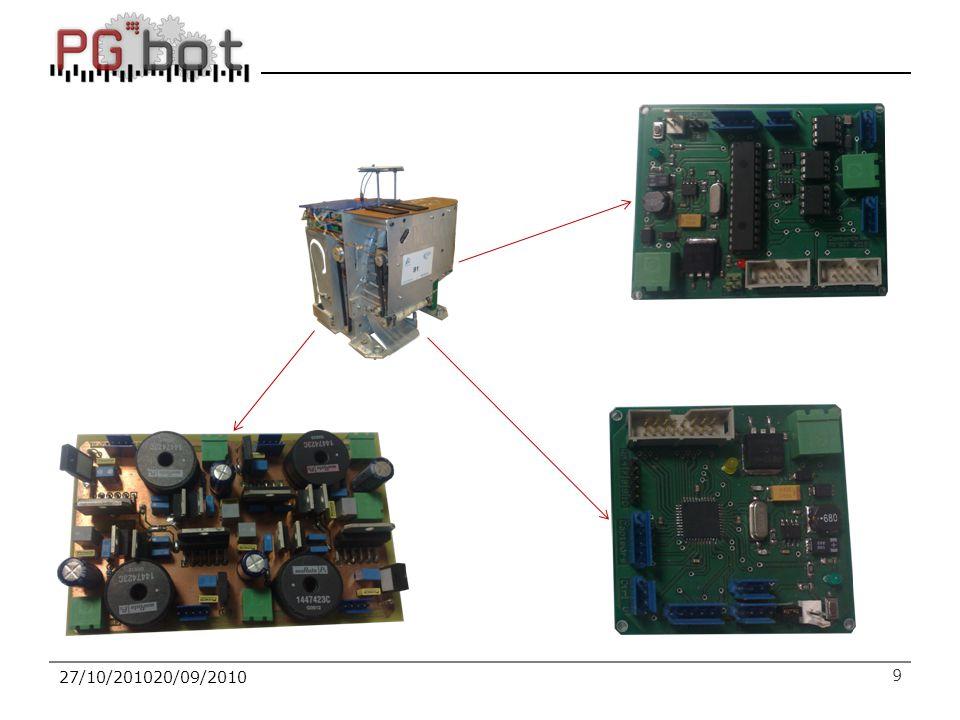 10 Notre projet 10 Caméra analyser le jeu et localiser les pions Balises à base d'accéléromètres pour détecter le robot adverse Mécanique simple avec système de pince avec ascenseur Asservissement implémenté sur dsPIC33F puis sur FPGA Capteurs télémètres infrarouges et capteurs à ultrasons Carte alimentation contrôle de la tension des batteries Carte mère Actel Smartfusion (ARM + FPGA)