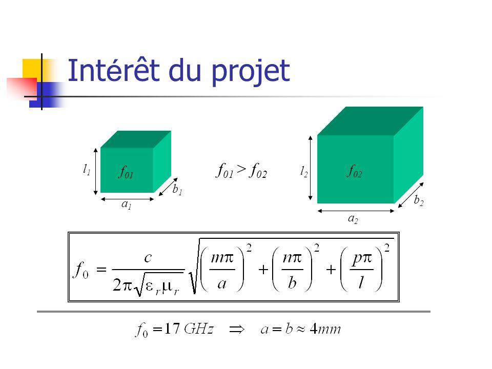 Int é rêt du projet f 01 a1a1 b1b1 l1l1 f 02 a2a2 b2b2 l2l2 f 01 > f 02