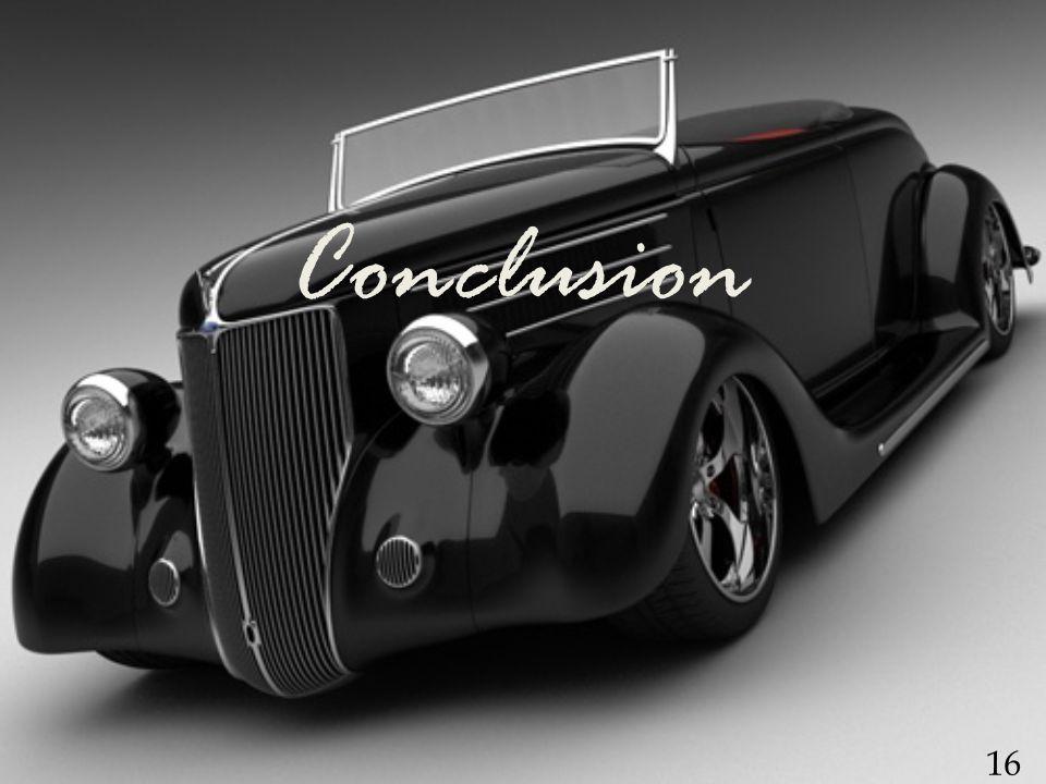 Conclusion 16